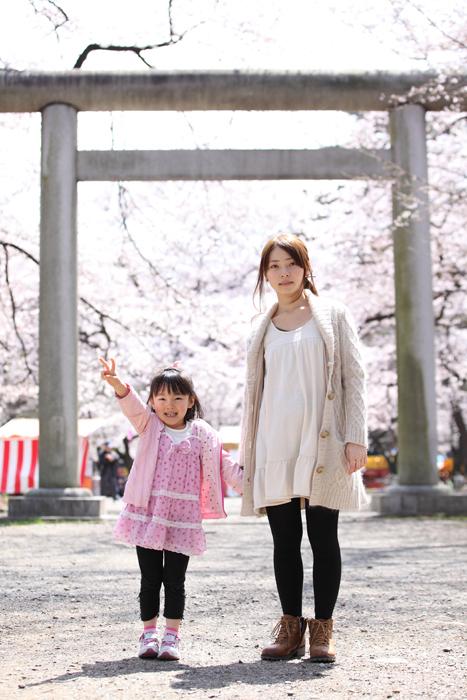 出張撮影KidsPhotoのブログ-桜