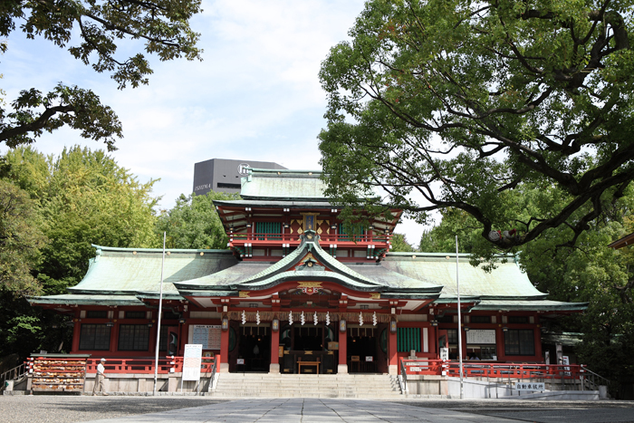 出張撮影KidsPhotoのブログ-富岡八幡宮 写真