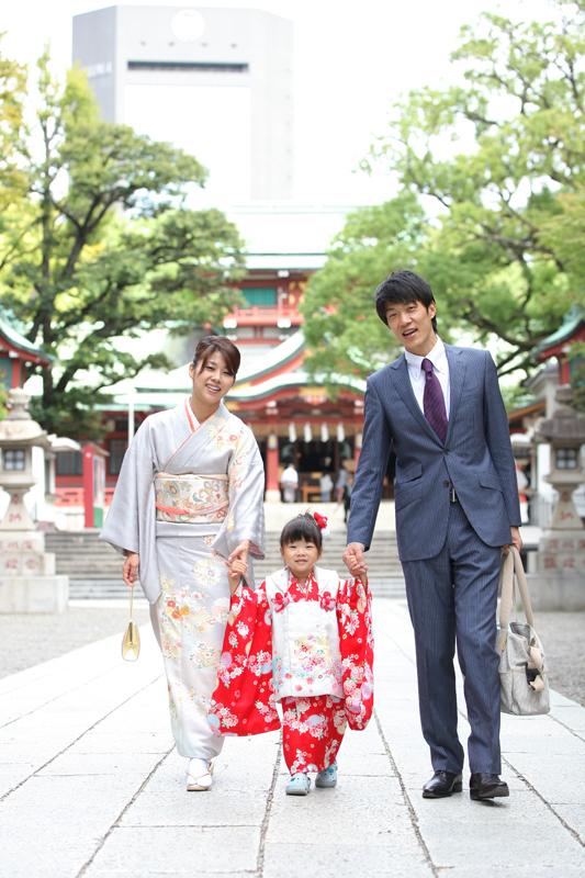 出張撮影KidsPhotoのブログ-富岡八幡宮 七五三 出張