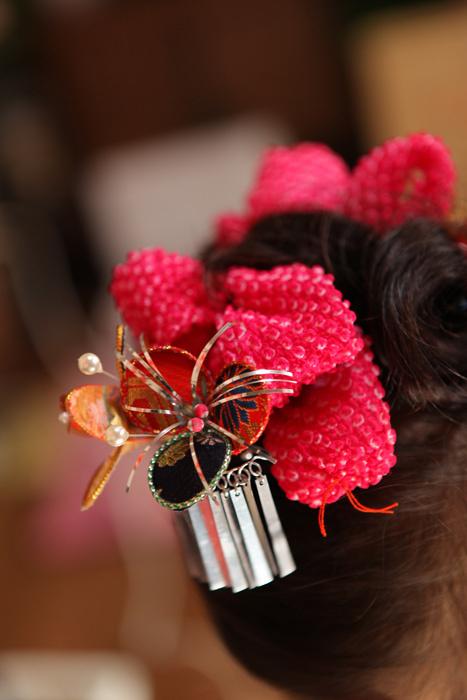 出張撮影KidsPhotoのブログ-七五三 髪飾り