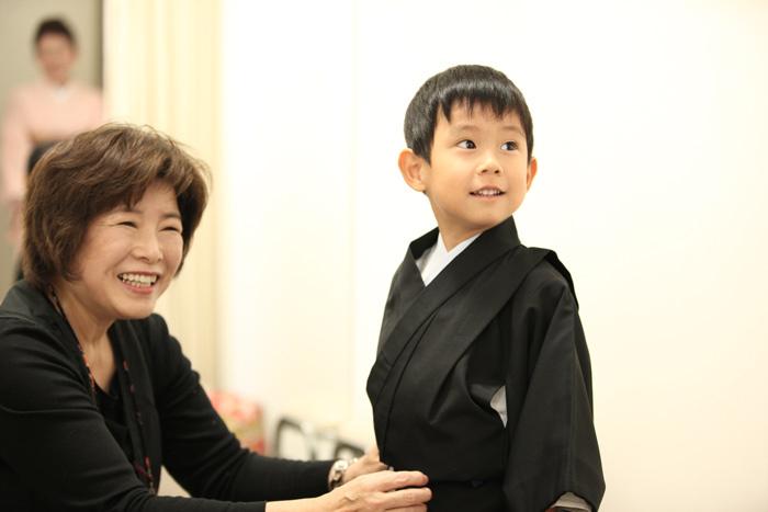 出張撮影KidsPhotoのブログ-着付け 七五三