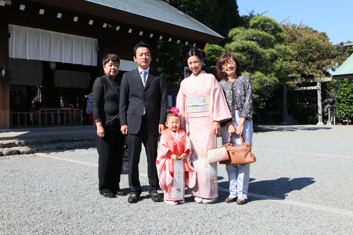 出張撮影KidsPhotoのブログ-伊勢山皇大神宮 七五三