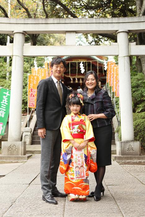 出張撮影KidsPhotoのブログ-雪ヶ谷八幡神社 七五三