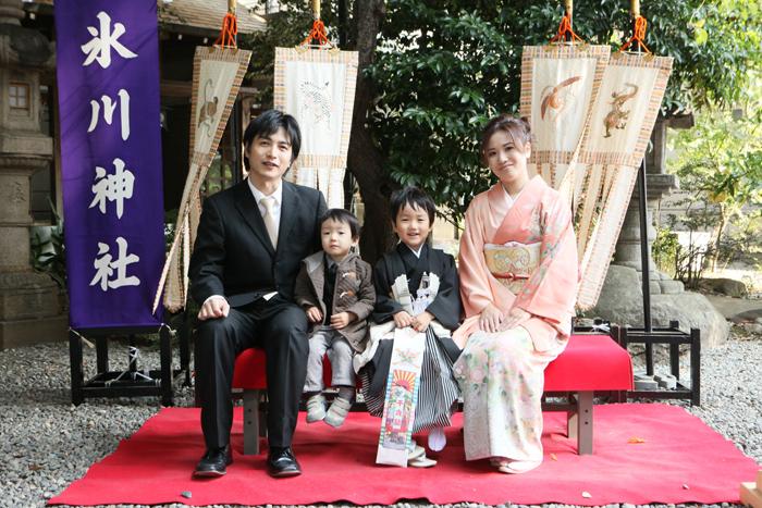 出張撮影KidsPhotoのブログ-川越氷川神社 お宮参り