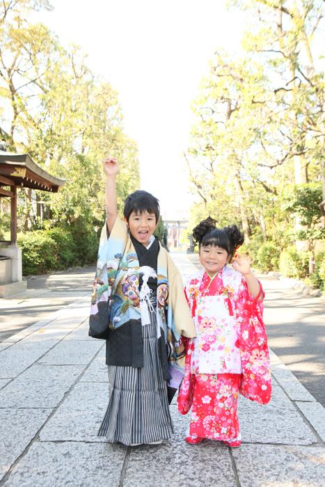 出張撮影KidsPhotoのブログ-六郷神社 七五三出張撮影