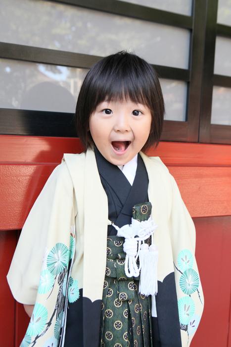出張撮影KidsPhotoのブログ-大國魂神社 写真
