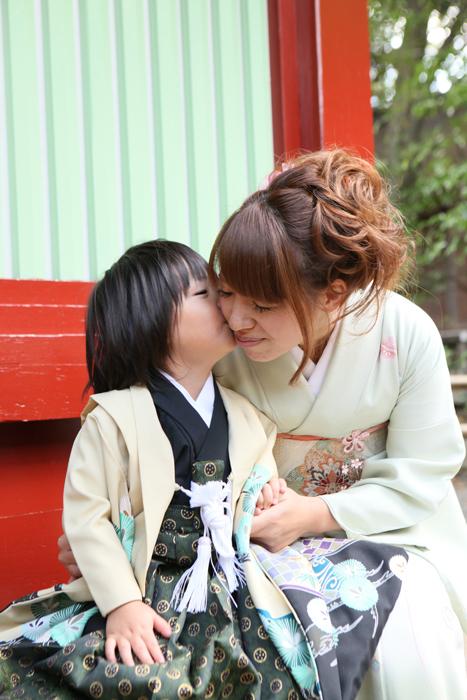 出張撮影KidsPhotoのブログ-大國魂神社 七五三出張撮影