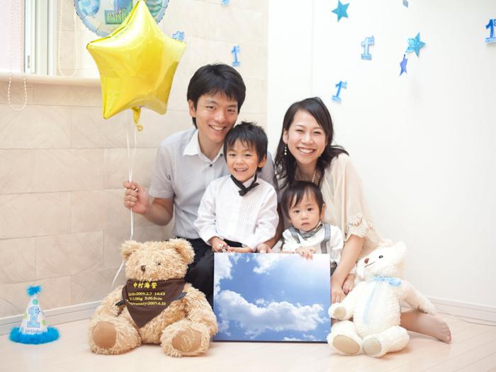 出張撮影KidsPhotoのブログ-記念日 撮影