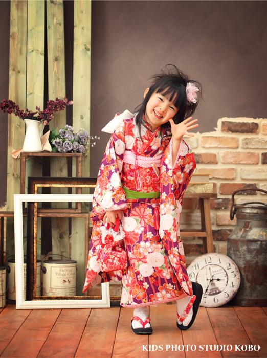 出張撮影KidsPhotoのブログ-七五三モデル
