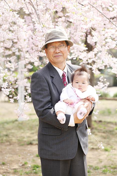 出張撮影KidsPhotoのブログ-桜 写真