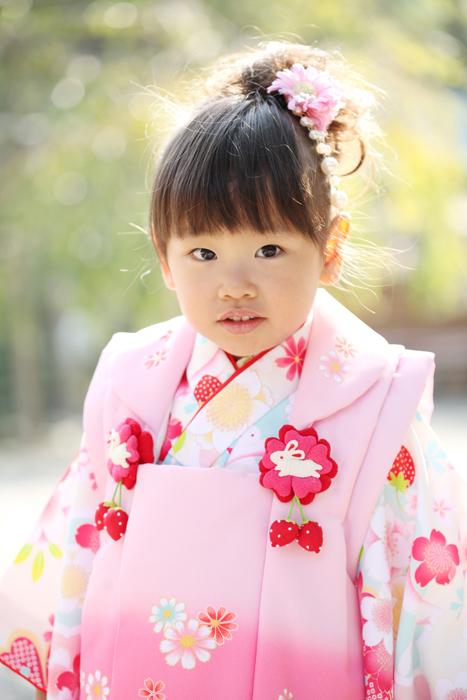 出張撮影KidsPhotoのブログ-大国魂神社 七五三撮影