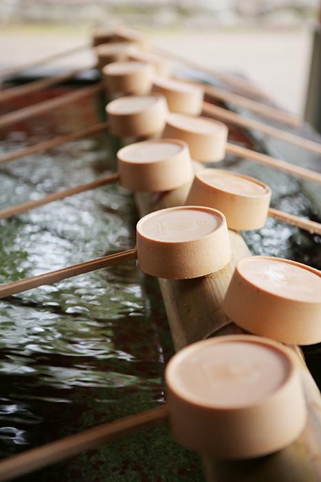 大宮氷川神社の手水