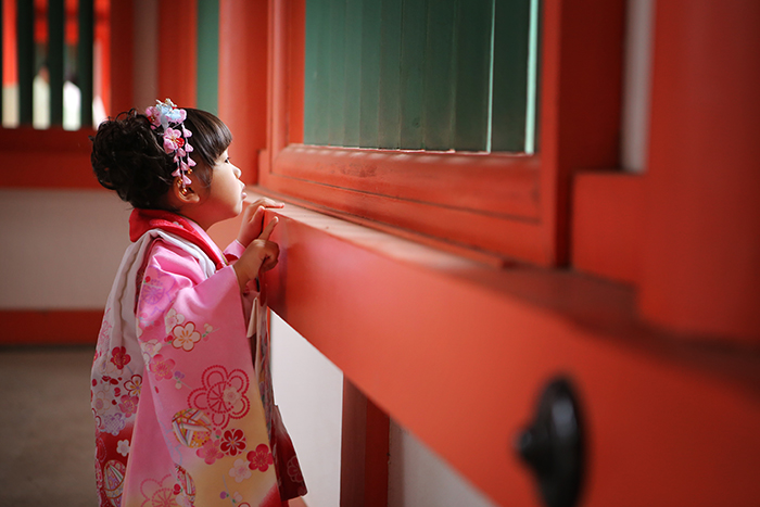 大宮氷川神社で七五三2