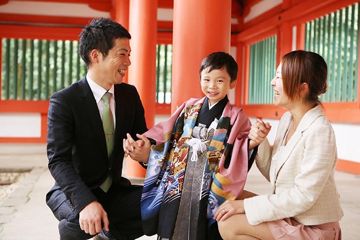 家族写真 氷川神社