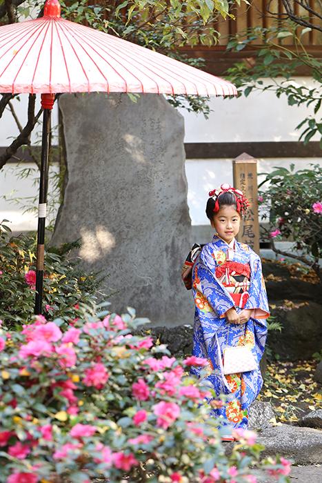 スサノオ神社で七五三出張撮影3