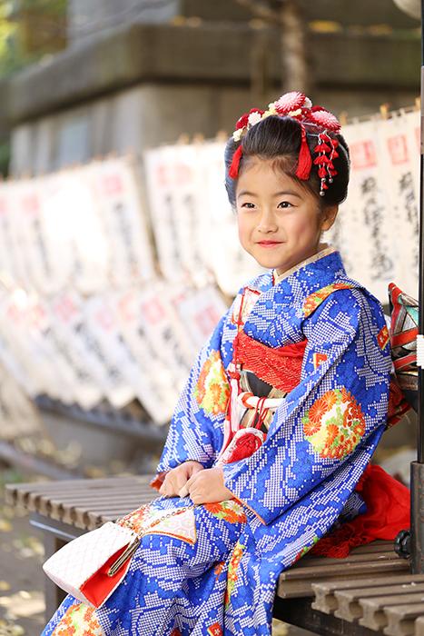 スサノオ神社で七五三出張撮影4