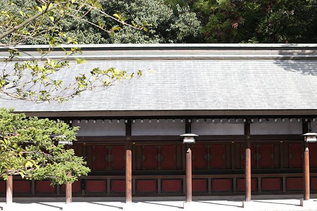 秩父神社の回廊