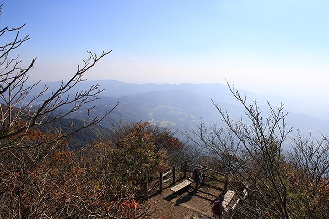 筑波山の頂上