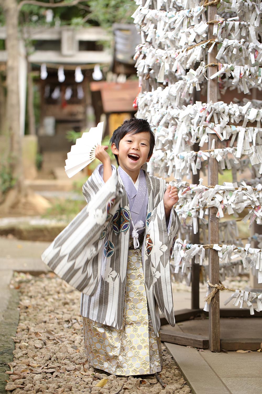 鳩ヶ谷神社で七五三出張撮影