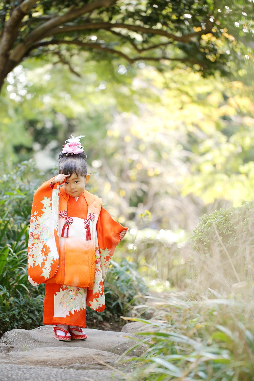 大宮氷川神社で七五三出張撮影