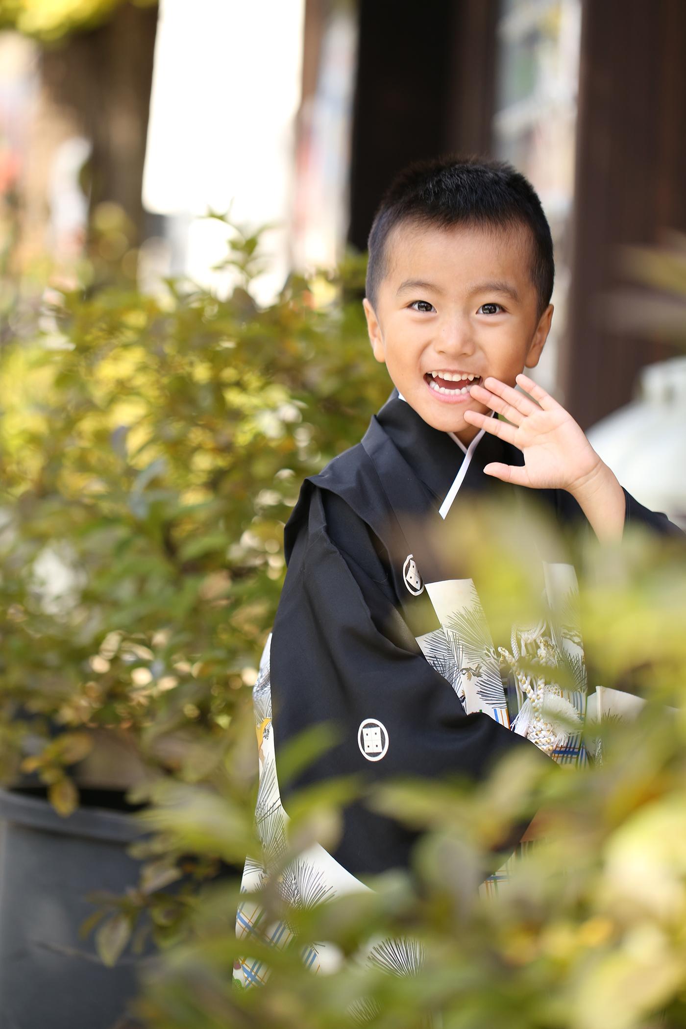 七五三の出張撮影〜スサノオ神社〜