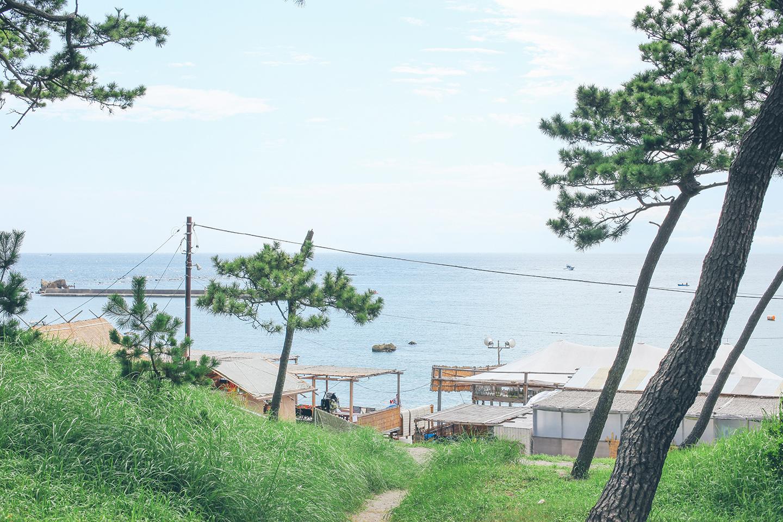 夏休みの葉山