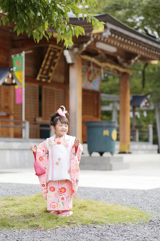 わらび神社で七五三撮影