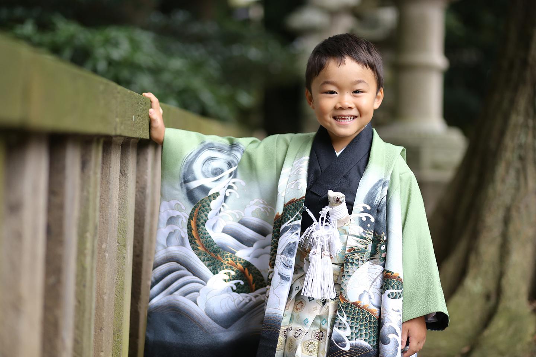 久伊豆神社に七五三の出張撮影