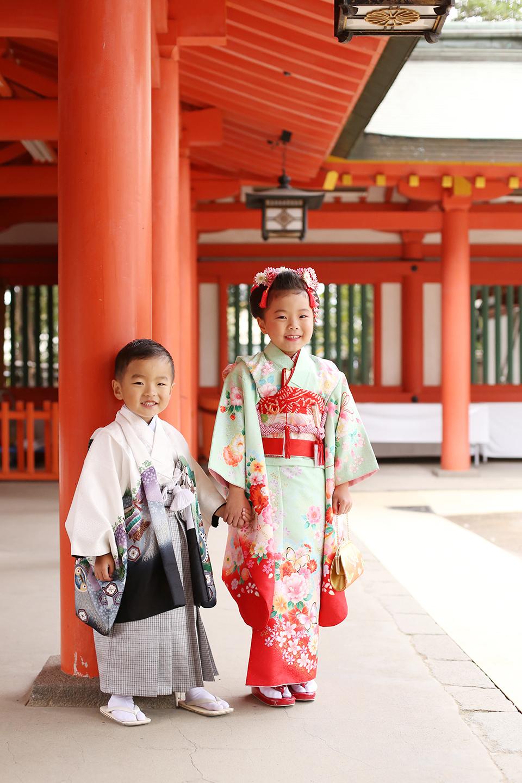 大宮氷川神社で七五三撮影