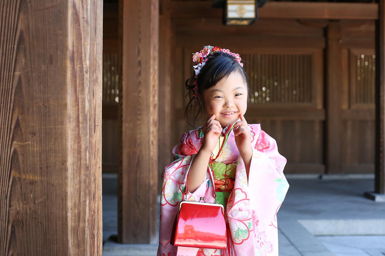 7歳七五三 渋谷区
