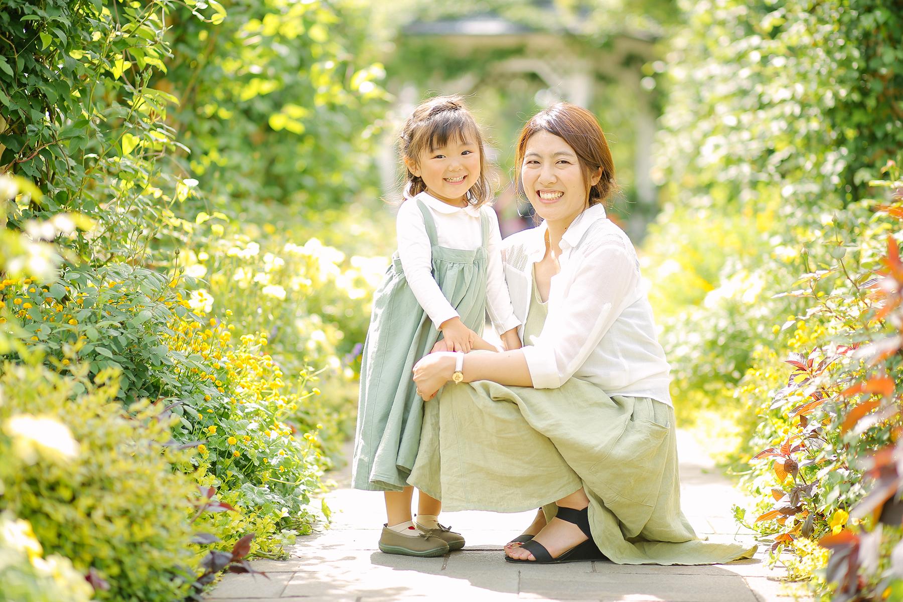 横浜でママと撮影会
