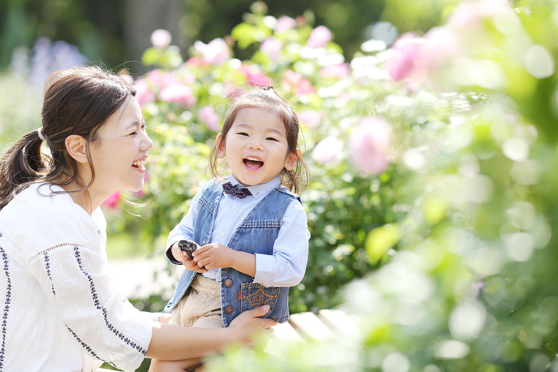 親子・家族写真の撮影会