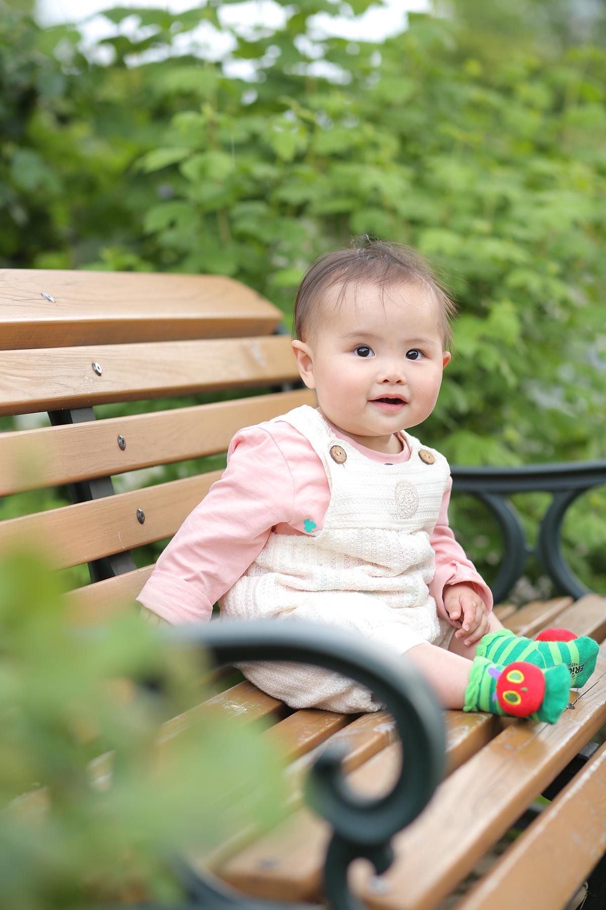 赤ちゃん お外撮影