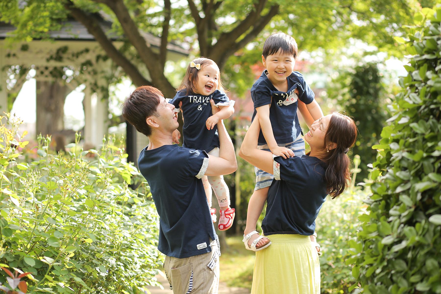 家族写真 出張撮影キッズフォト