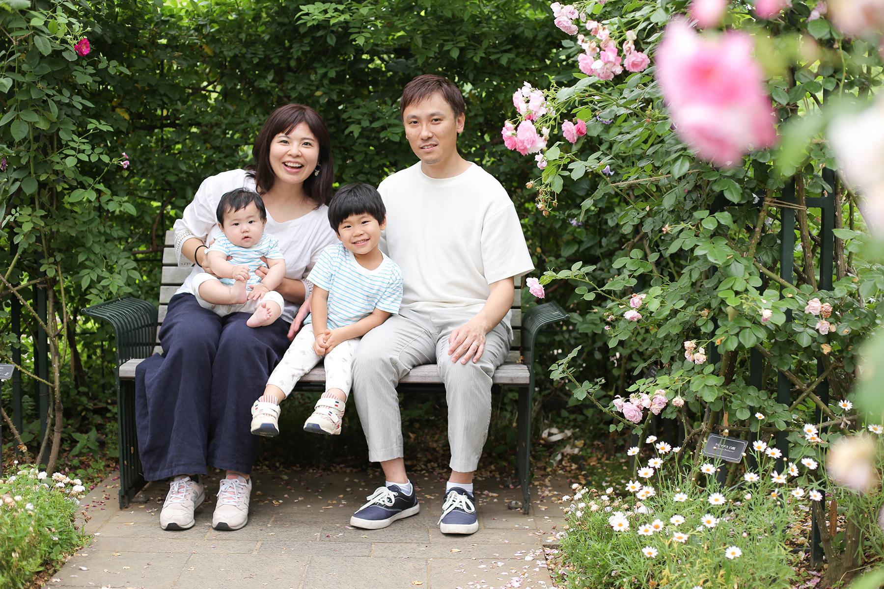 横浜で家族写真撮影