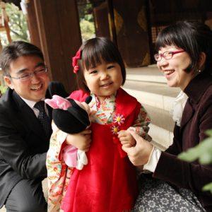 家族写真の出張撮影で中目黒へ!