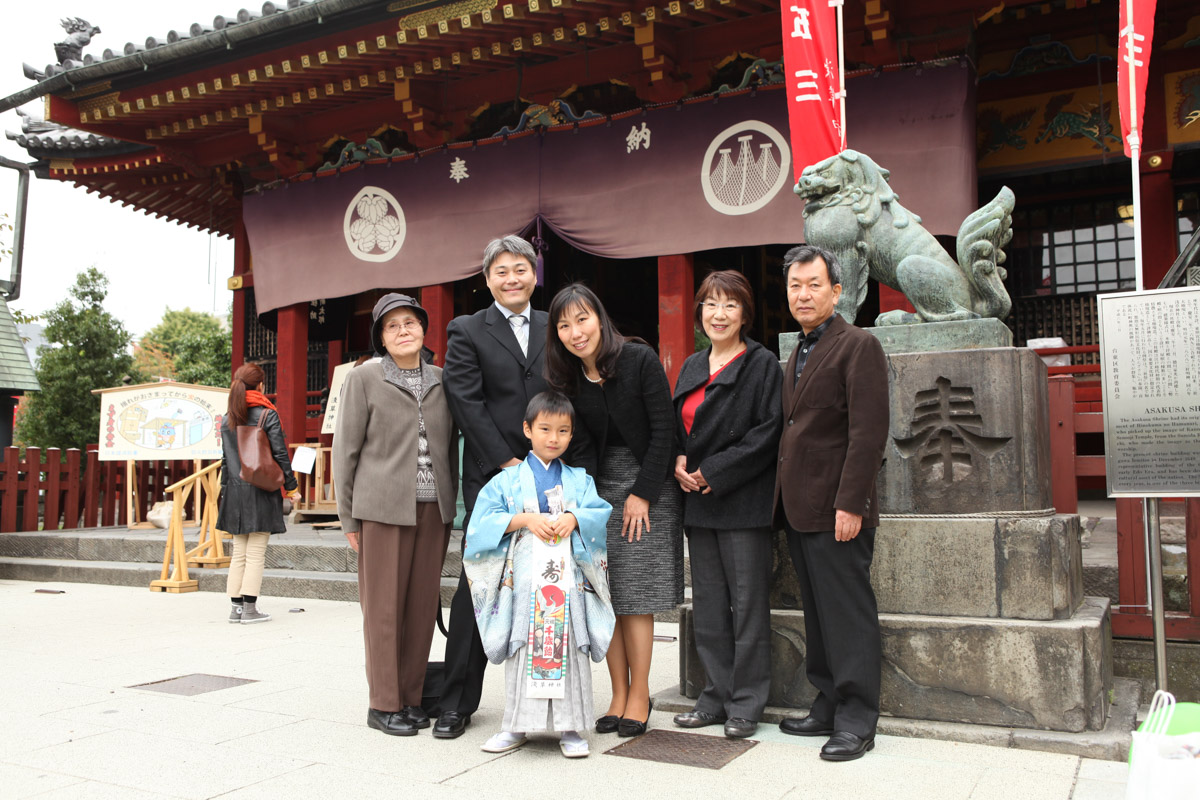 浅草神社神殿・継殿