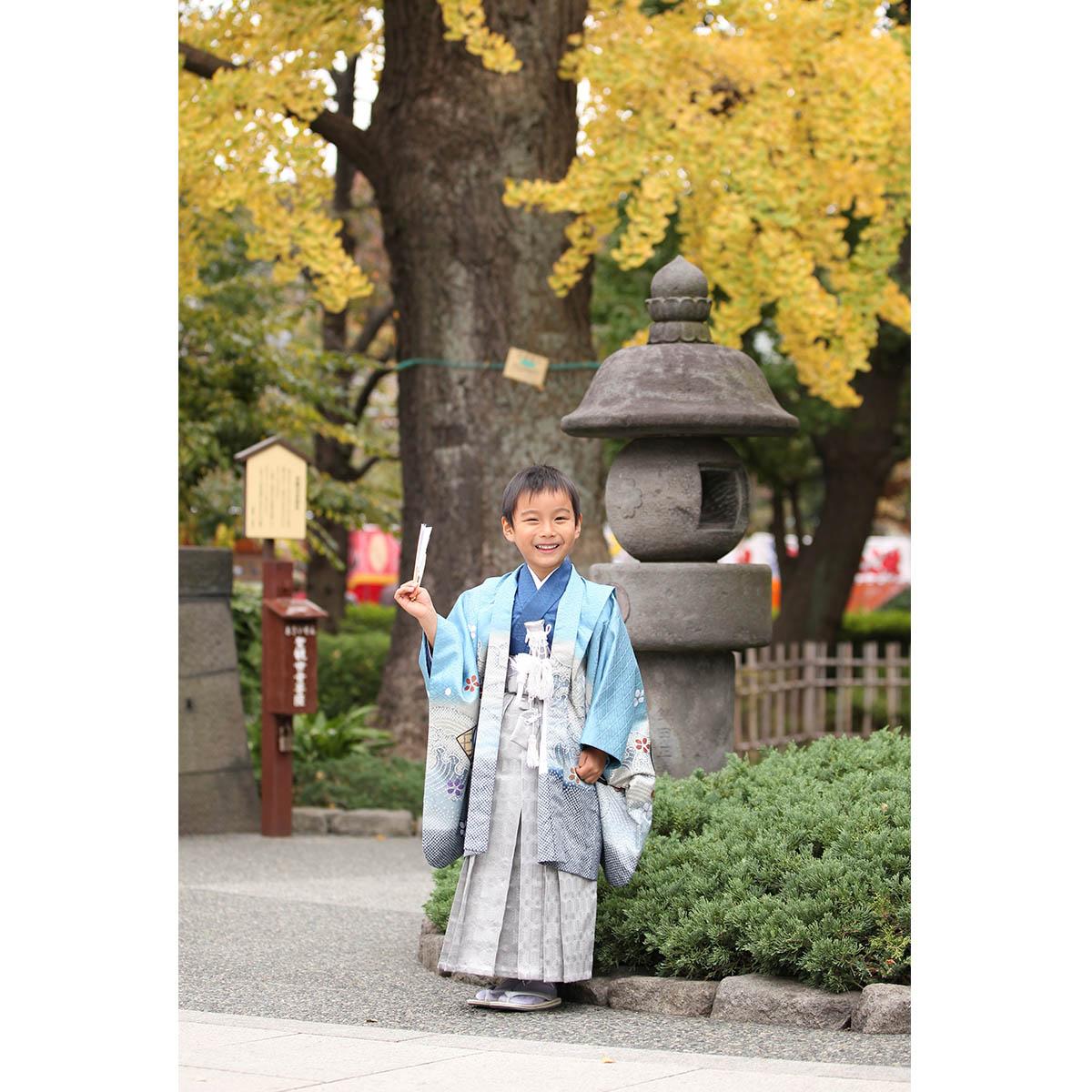 浅草神社に七五三の出張撮影へ!