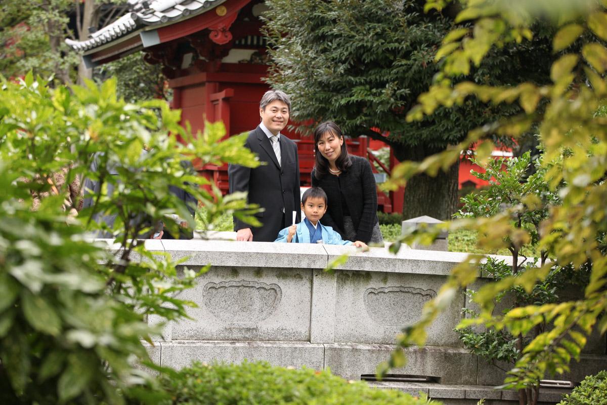 浅草神社で七五三の出張撮影