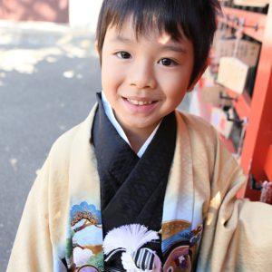 六郷神社へ七五三出張撮影
