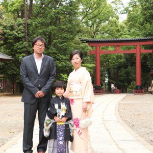 大宮氷川神社で七五三のロケ前撮り~このシーズンしか撮れない写真がある~