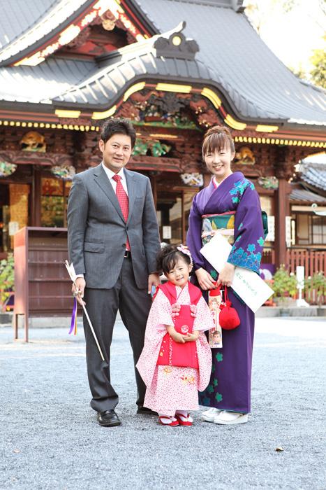 熊谷市聖天山で七五三撮影1