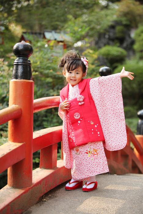 熊谷市聖天山で七五三撮影4