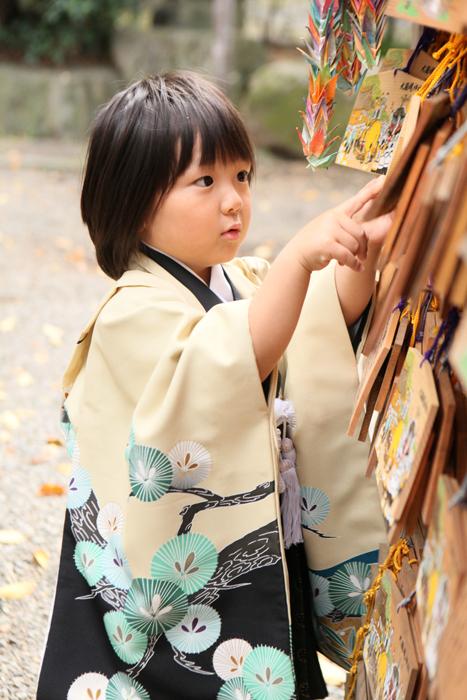 大國魂神社-5歳の七五三