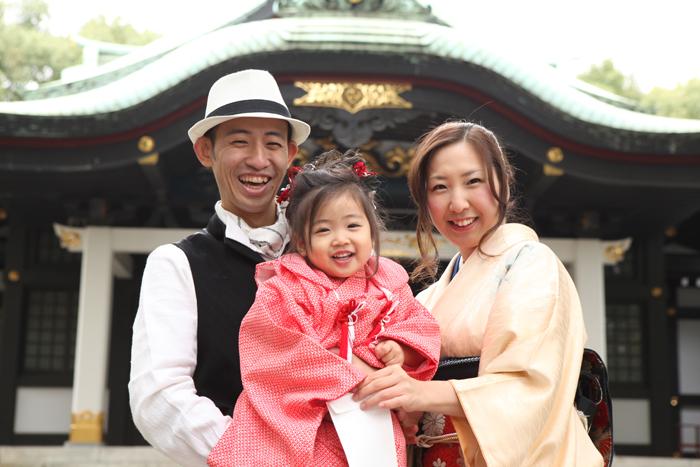 王子神社へ七五三の出張撮影!