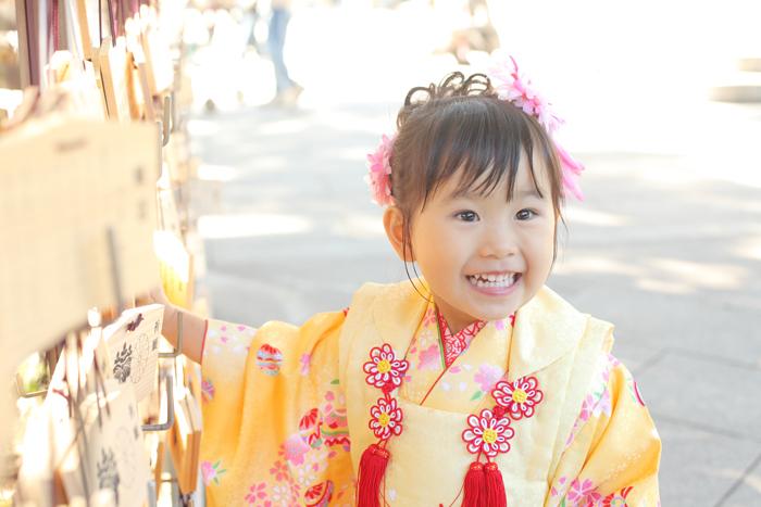 明治神宮に出張撮影!3歳女の子のお写真紹介