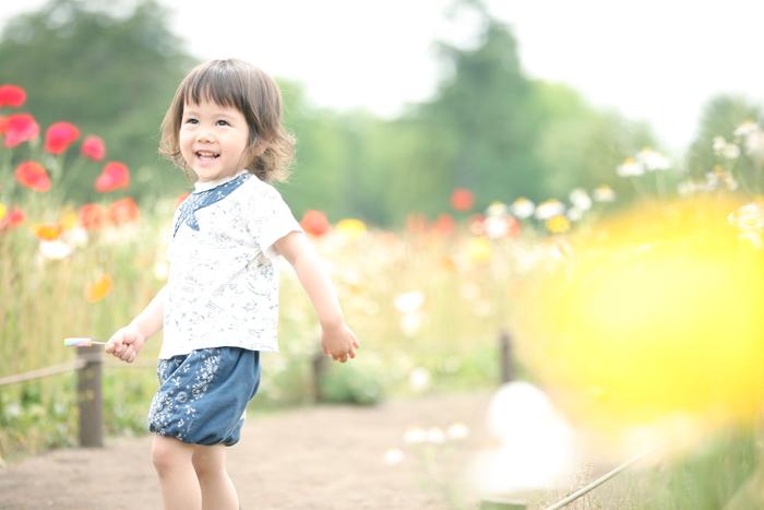 昭和記念公園でキッズ撮影会