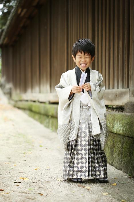 牛嶋神社へ七五三の出張撮影1
