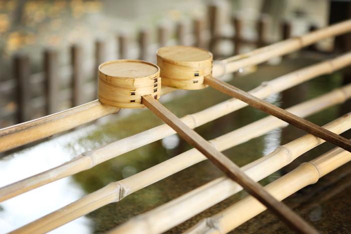 牛嶋神社の柄杓