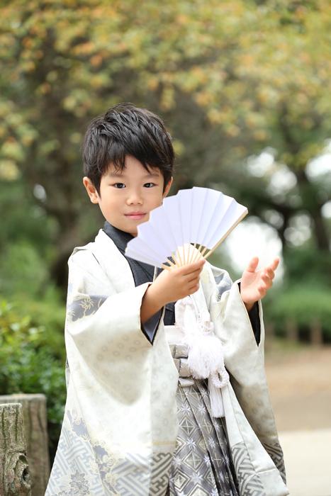 牛嶋神社へ七五三の出張撮影3